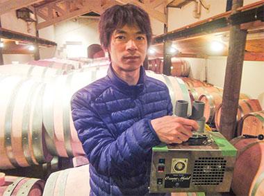 ワイン製造責任者 取締役 掛川 史人 様