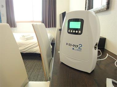 Hotel She, Kyotoで利用されている 「オースリークリア 2」